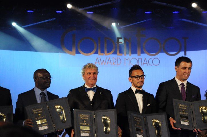 GOLDEN FOOT AWARD 2014