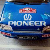 FASCICULE N°122 CITROEN AX GTI 1993 MONTE CARLO IXO 1/43. - car-collector.net