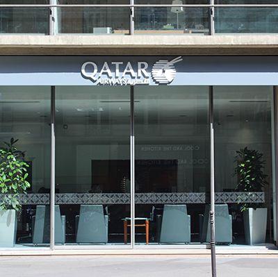 Qatar Airways Paris change d'adresse