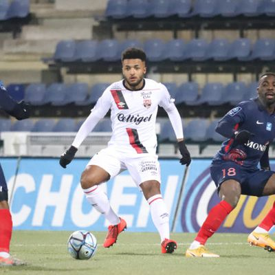 Ligue 2 BKT : Morgan Poaty dans l'équipe type France Football de la 19e journée