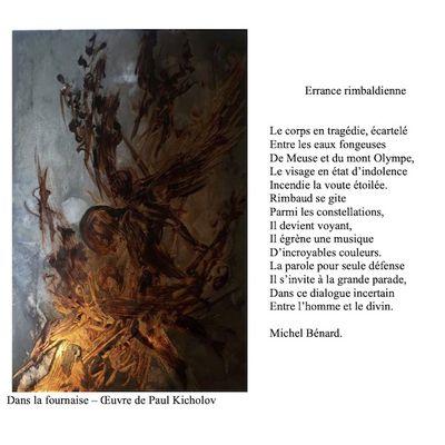 Errance rimbaldienne - Michel Bénard