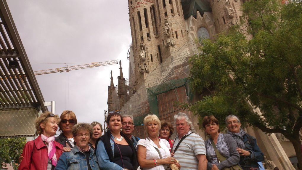 Quelques photos de Santa Susanna et de Barcelone, super festival, regarder les vidéos et vous aurez fait le tour du Festival.