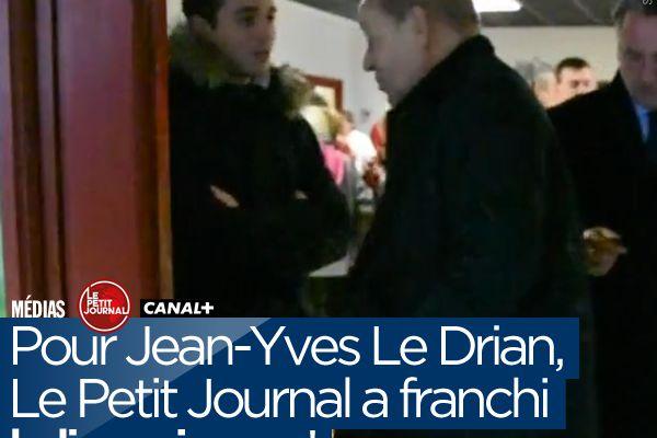 Pour Jean-Yves Le Drian, Le Petit Journal a franchi la ligne jaune ! #LPJ