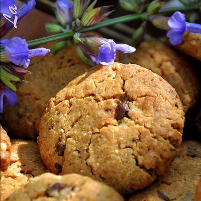 Cookies au beurre de cacahuètes et chocolat