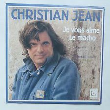 """christian jean, un chanteur français par trop méconnu des années 1980 qui connut son heur de gloire avec la chanson """"le macho"""""""