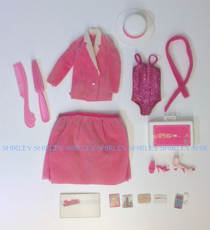 """""""DAY-TO-NIGHT"""" BARBIE DOLL CLOTHES 1984 MATTEL #7929"""