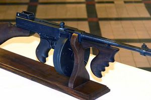 Tommy gun Dillinger swiped back home again in Indiana