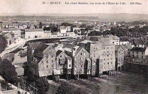 Les vieux moulins de Meaux