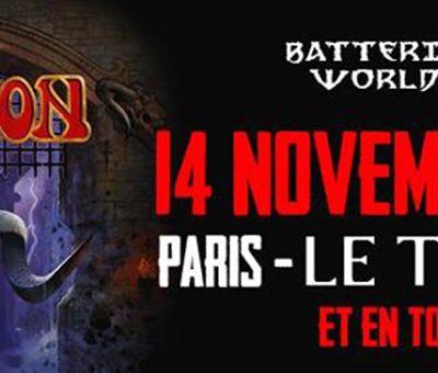 Agenda : Saxon au Trianon, le 14 novembre 2016