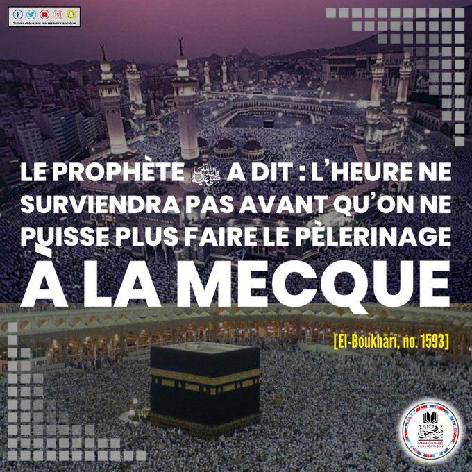 Ne plus pouvoir se rendre à la Mecque...