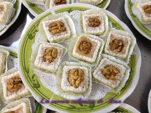 Gâteaux aux noix, appelé le royal par sa créatrice je nomme Samiha