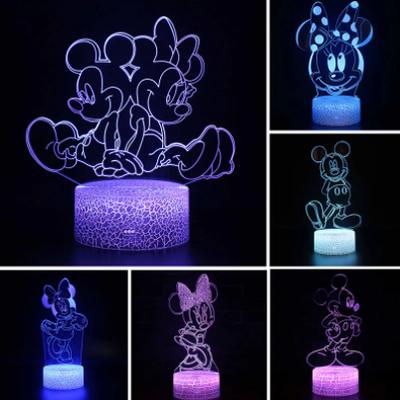 Veilleuse 3D Disney en folie !!!!