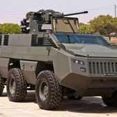 Jordan first buyer of South African armored vehicle