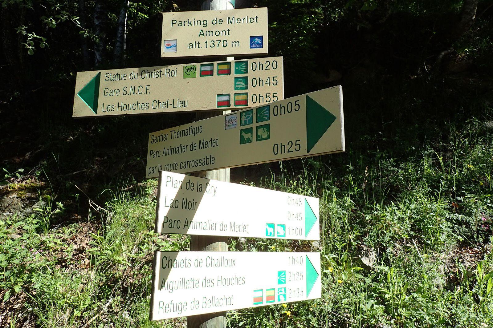 Aiguillette des Houches: En boucle depuis le Merlet