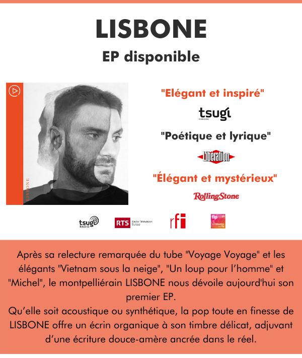 """Lisbone : """"Poétique et lyrique"""", Libération !"""