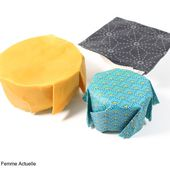Tuto : fabriquer un papier d'emballage alimentaire réutilisable