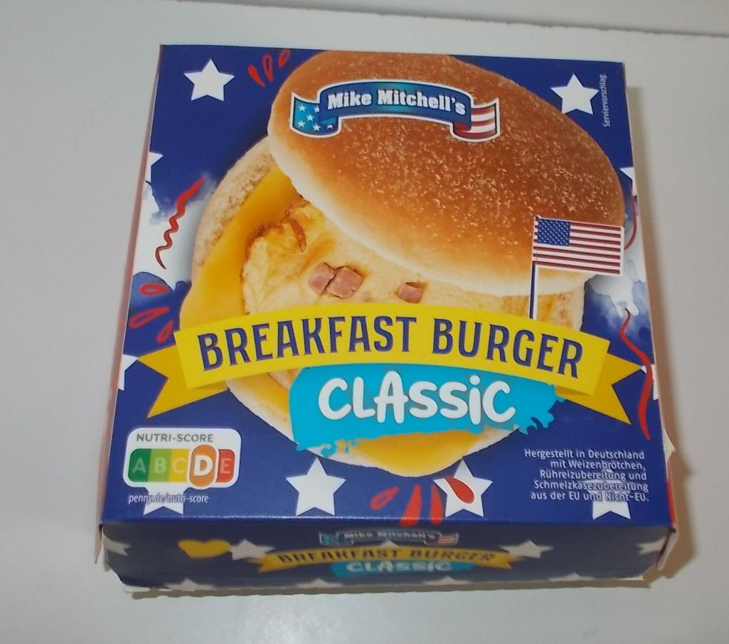 Penny Mike Mitchell's Breakfast Burger Classic