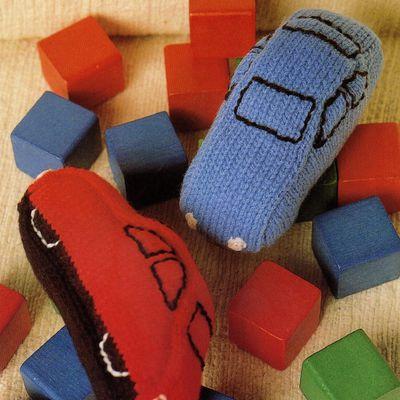 Tutoriel tricot - Voitures