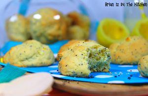 Biscuits Citron & Graines de Pavot