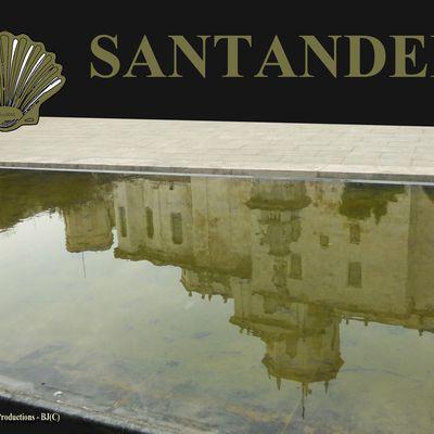 SANTANDER capitale de la Cantabrie ( Cantabria - Espana ) - compostelle 2017 - au fil des rues
