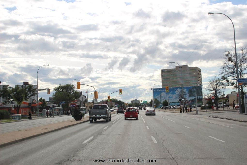 Sur la route Niagara à Edmonton - 16 / 22 aout 2016