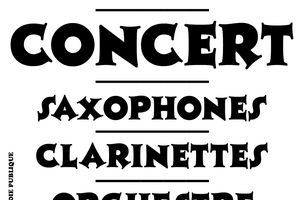 CONCERT Classes Clarinettes, saxophones et OJ2