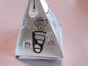 Pyramide/tente : points de vue