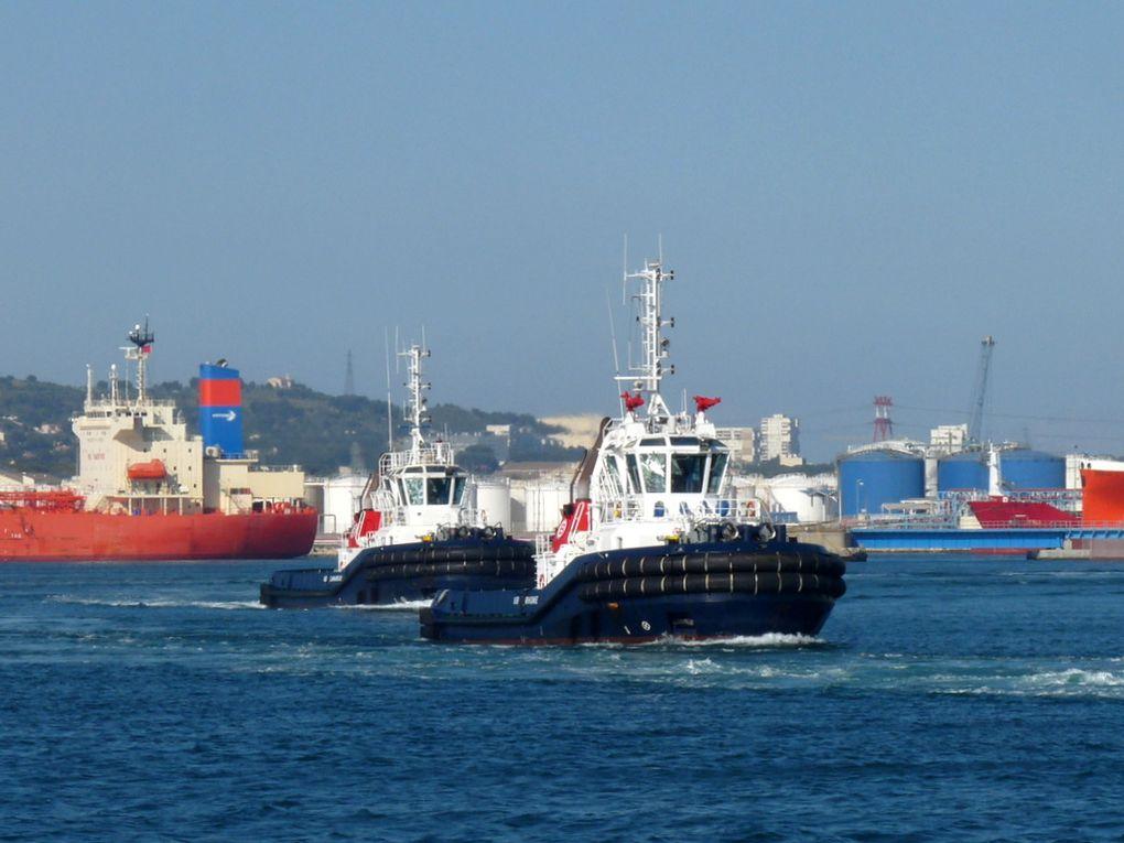 VB RHONE & VB CAMARGUE  , en rade de Port de Bouc le 21 mai 2015