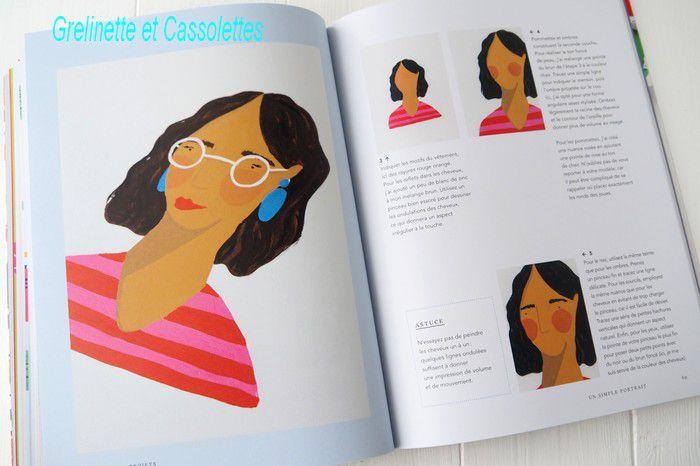 Gouache Créative, de Jessica Smith aux Editions Dessain et Tolra