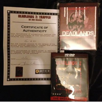 Le visuel des HD DVD Deadlands et Deadlands 2