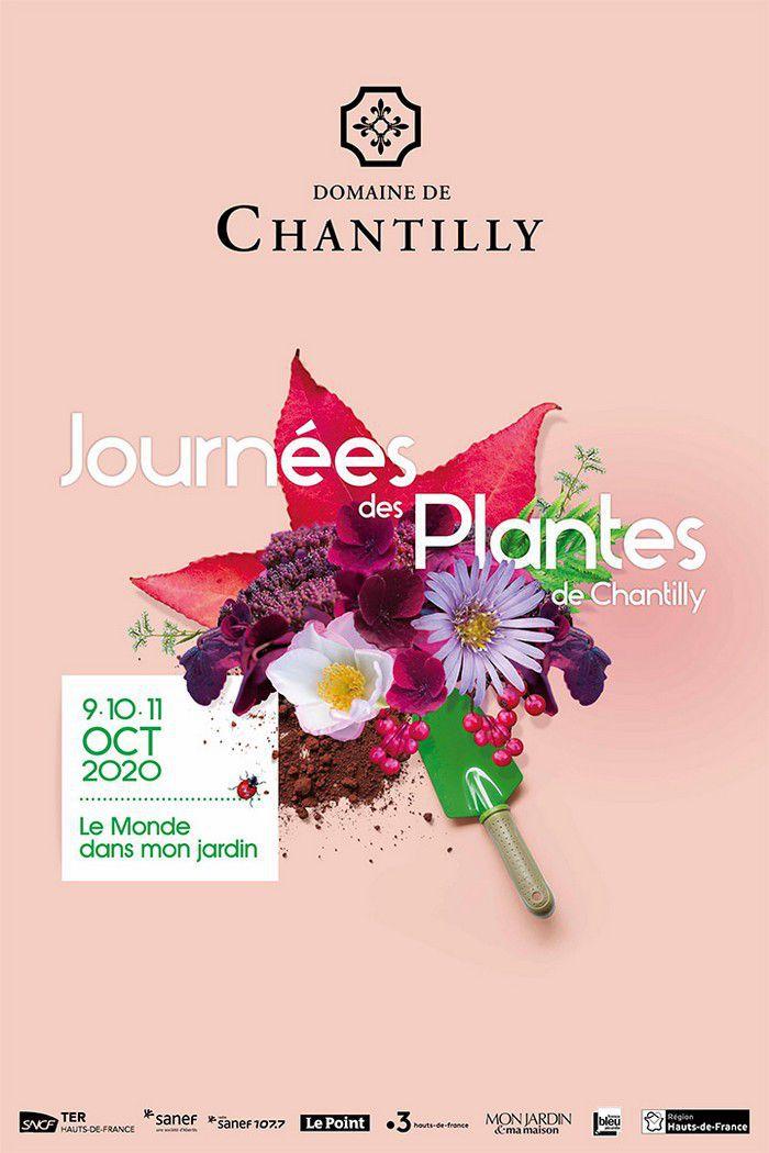 Les Invitations pour les Journées des Plantes de Chantilly sont pour...