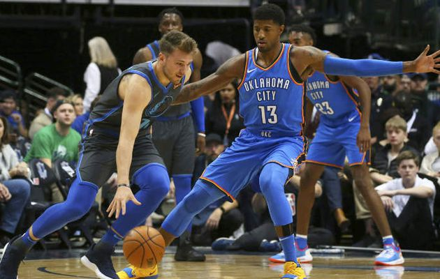 Luka Doncic fait tomber le Thunder
