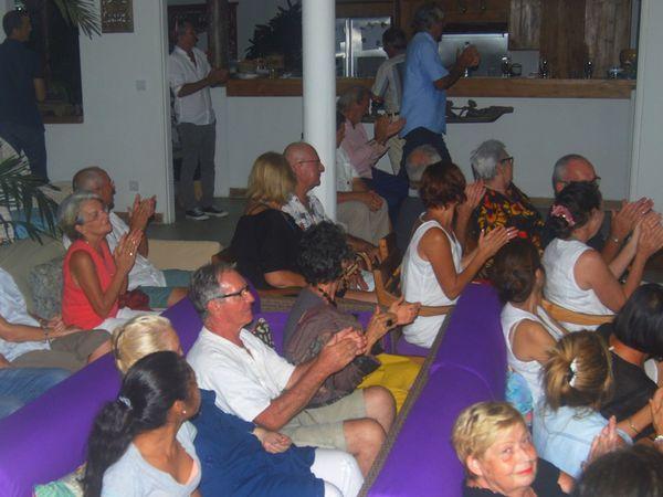 Et les membres du club étaient au rendez-vous