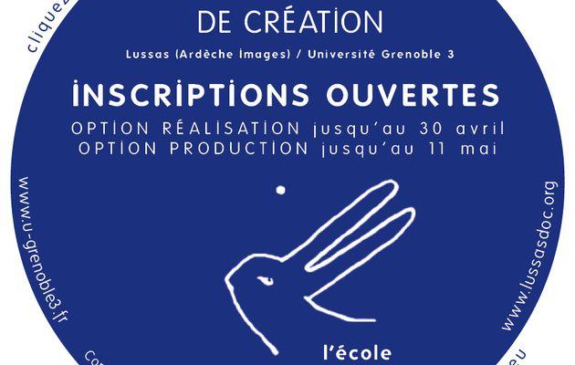Inscriptions ouvertes au master documentaire de création