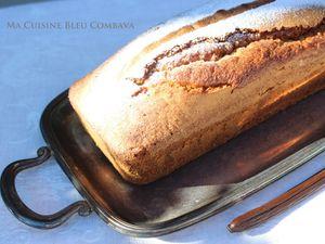Le Cake Intense à La Vanille Bleue