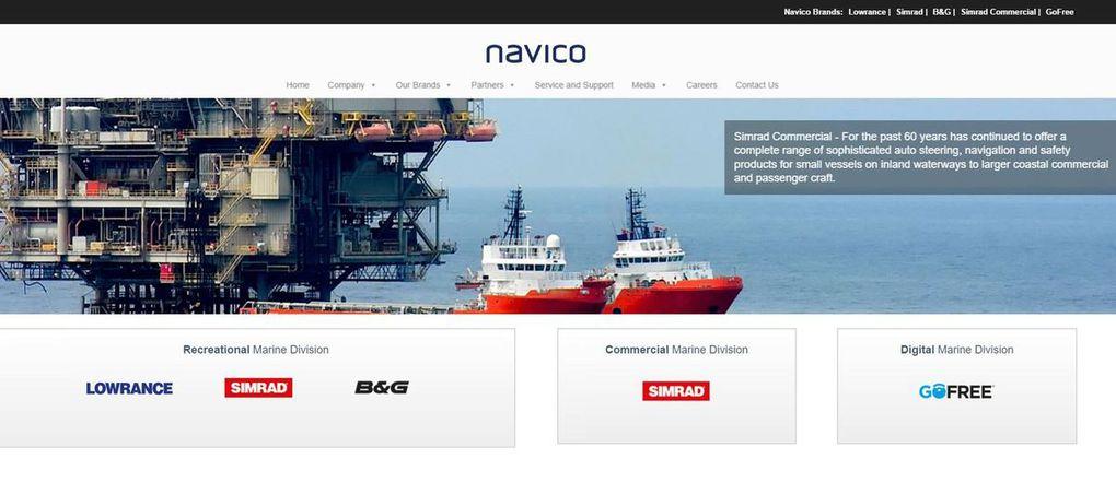 Navico (Lowrance, Simrad, B&G, GoFree...) racheté par Goldman Sachs