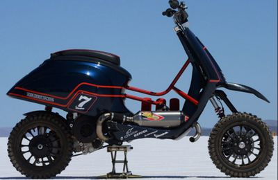 Vespa Desert Racer: Le Foto