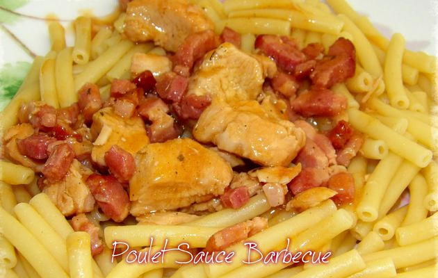 Poulet sauce barbecue au cookeo
