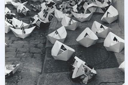 Toujours en 1985 un matin dans une rue de Mâcon