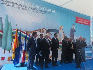 Inauguration Avignon Carpentras