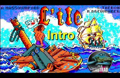 Amstrad CPC Intro - L'ile (Ubi Soft 1988) d'Alain MASSOUMIPOUR