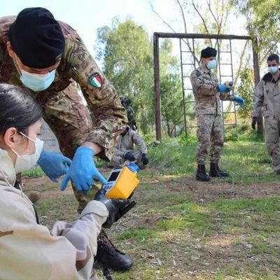 Libano:il 7°Reggimento CBRN Cremona termina corso a favore delle forze armate libanesi