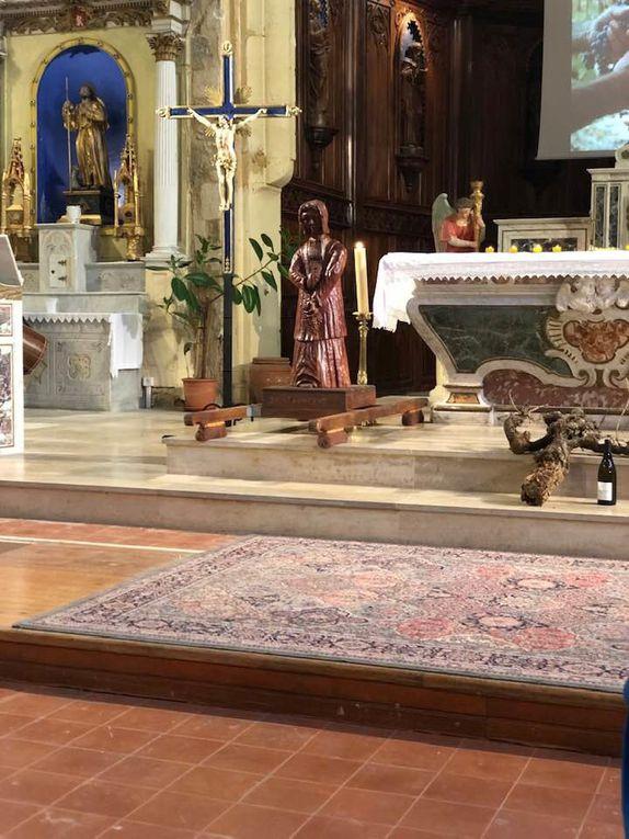 Fête de la Saint Vincent avec la Compagnie de la Côte du Rhone Gardoise