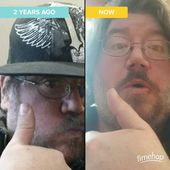 Blurbs from a Boggled Mind - #nofilter #thennow #timehop Couple year throw...