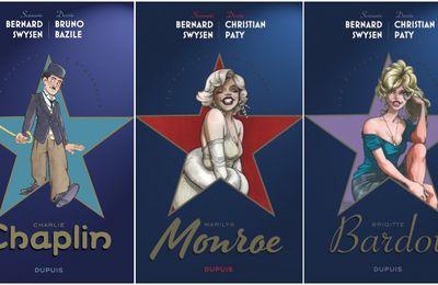 Brigitte Bardot. BB parmi étoiles de l'histoire chez Dupuis