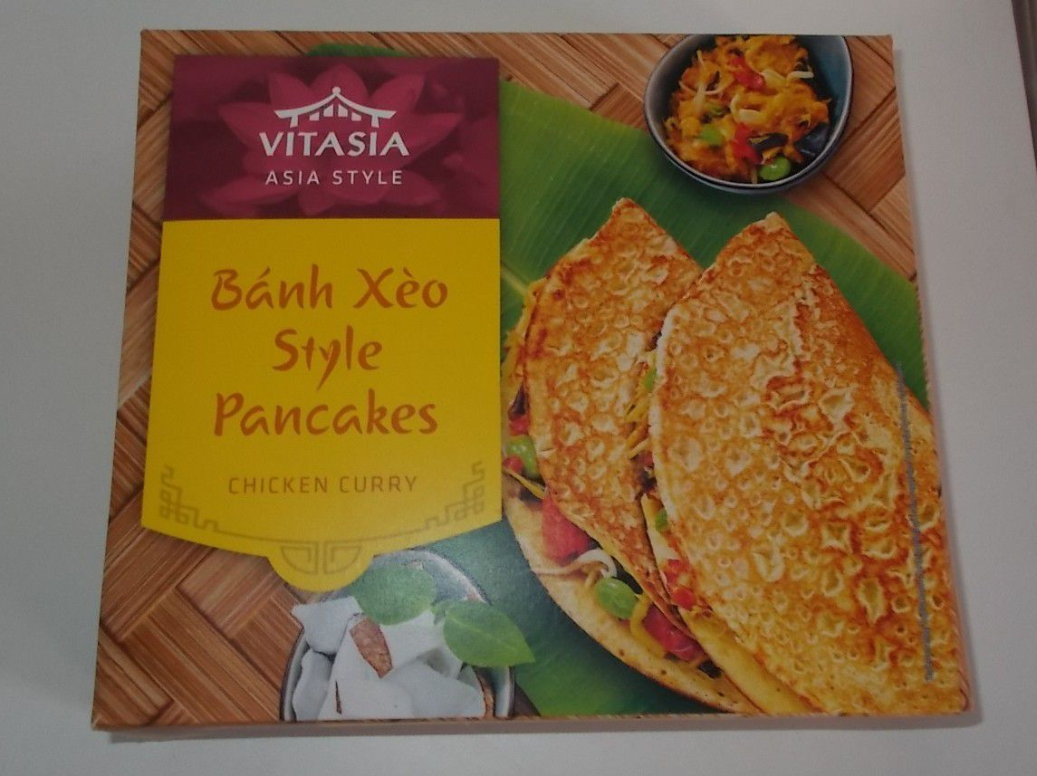 Lidl Banh Xeo Style Pancakes Chicken Curry