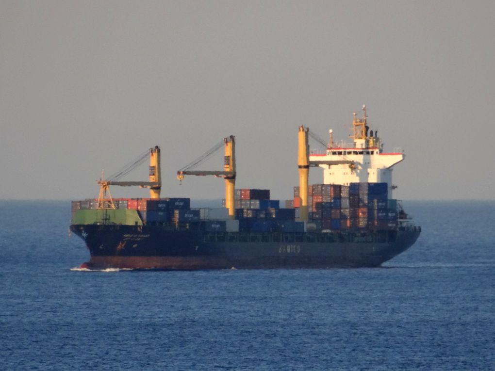 CIELO DI AGADIR , arrivant au port de Marseille le 19 juin 2018