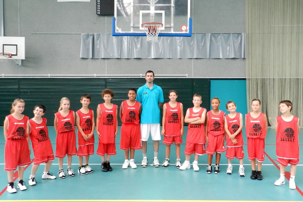 Album - 2F Camps Basket - Groupes & staff