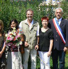 Saint André les Alpes : Danièle et Didier sont passés devant Monsieur le Maire