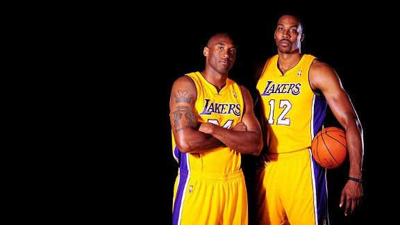 Kobe et Howard certainement out face aux Clippers